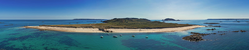 Monsonniere Beach panorama