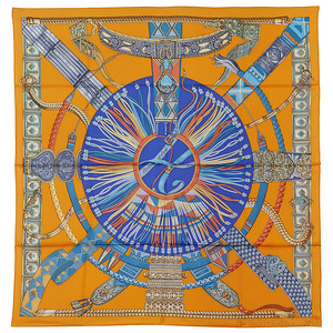 Ceintures et Liens - Orange Blue Grey - NWCTS - 1312240308