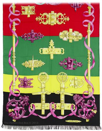 Feronnerie - Multicolor - Echarpe - 63 x 178 cm - NWCT - Ref 1309181630