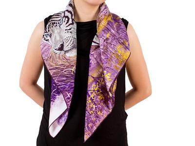 Tigre du Bengale - Violet gris Noir - Annex
