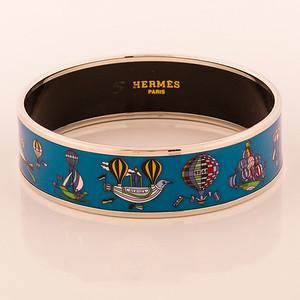Bracelet Folies du Ciel - Wide PM - Green - Enamel Gold plated - NWOCTS - 1306051636