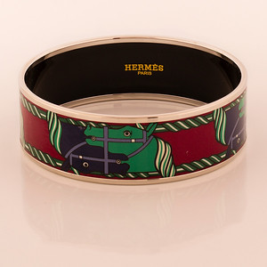 Bracelet Quadrige - Wide PM - Maroon - Enamel AGPD - NWOCTS - 1306051847