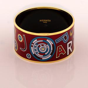 Bracelet Tohu Bohu - Extra Wide PM - Chataigne - Enamel Gold Plated - NWOCTS - 1306121605