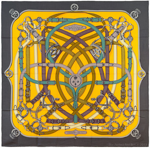 Cavalcadour - Orange Gris Bleu - CS 140 - NWCT - Ref 1307191341