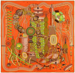 Laboratoire du Temps - Orange Brun Vert - CS 140 - NWCT - Ref 1307221647