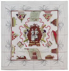 A La Gloire de la Cuisine Francaise - White Brown Pink - EXCWCT - 1411012312