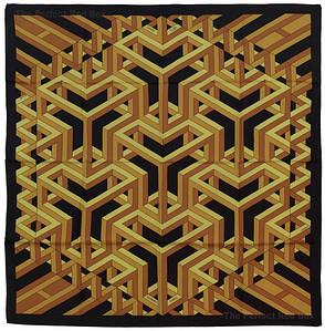 Carre Cube - Black Yellow Ochre - NWOCT - 1411180045