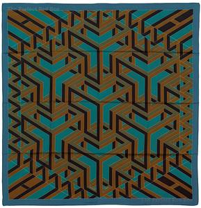 Carre Cube - Blue robin egg Blue Ochre - NWOCT - 1411180052