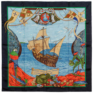 Christophe Colomb - Black Blue Green Red - Jacquard - EXCWCT - 1409072211