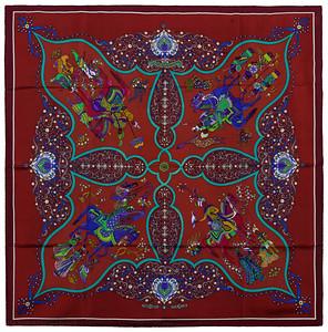 Poesie Persane - Burgundy Brown Turquoise - VGCWCT - 1409072325