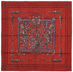 Tresors Retrouves - Red Grey Purple - NWOCT - 1411022304