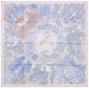 Jardin de Leila - White Sky blue Sepia - NWOCT - 1601171432