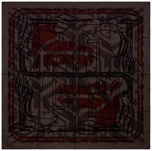 Imprimeur Fou Quadricube - CS140 - Dark grey Blac Red - NWCTS - 1608231508