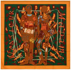 Monsieur et Madame II - CS140 - Light orange Green Brown - NWCTS - 1604191310