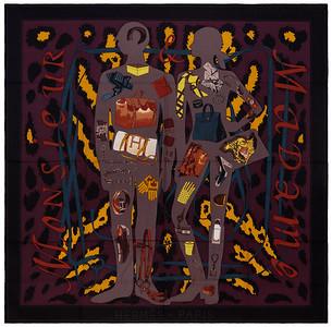 Monsieur et Madame II - CS140 - Noir Etoupe Lie de vin - NWCTS - 1604011514