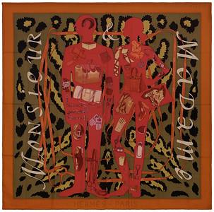Monsieur et Madame II - CS140 - Orange Khaki Fuchsia - NWCTS - 1604191245