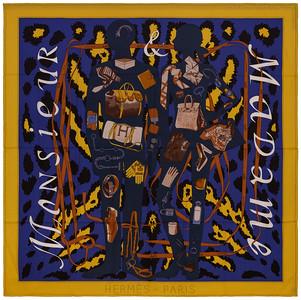 Monsieur et Madame II - CS140 - Yellow Blue Brown - NWCTS - 1604191256