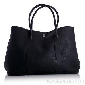 Garden Party 36 - Black - Negonda Calfskin Leather - PHW - New - 1505261445