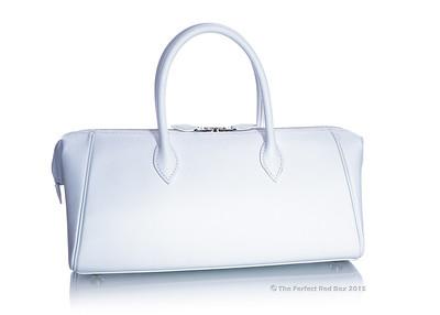 Paris Bombay PM 28 -  White Epsom Leather - PHW - New - 1505201227