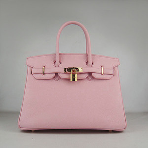 Birkins 30 pink gold hardware