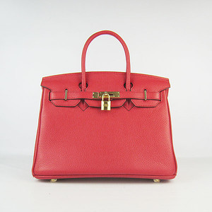 Birkins 30 red gold hardware