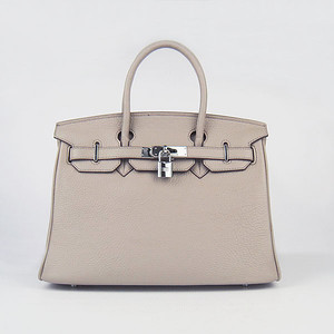 birkins 30 grey silver hardware