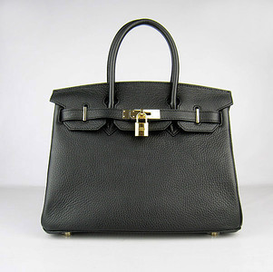 Birkins 30 black gold hardware