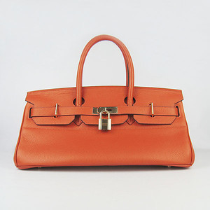 Birkins 42 orange gold hardware