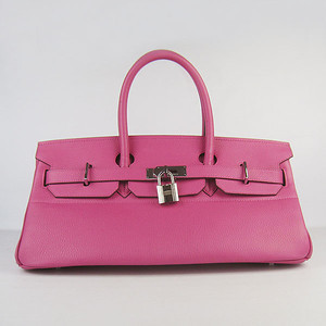 Birkins 42 purple silver hardware