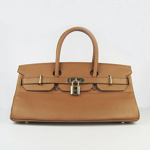 Birkins 42 light brown gold hardware
