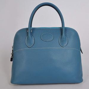 Hermes Bolide Blue W37 x H27 x D14cm