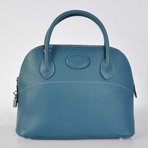 Hermes Bolide 31CM Blue W31 x H23 x D13cm