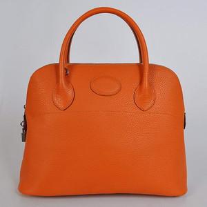 Hermes Bolide Orange W37 x H27 x D14cm