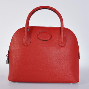Hermes Bolide 31CM Red W31 x H23 x D13cm