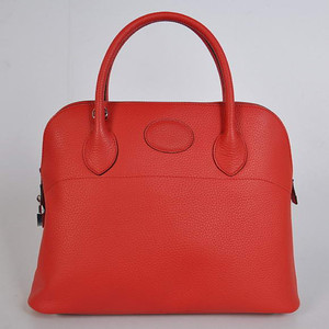 Hermes Bolide Red W37 x H27 x D14cm