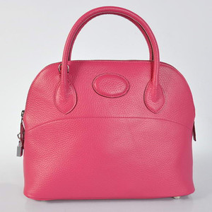 Hermes Bolide 31CM Pink W31 x H23 x D13cm