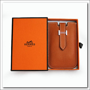 Orange Hermes phone case