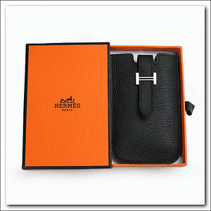 Black Hermes phone case