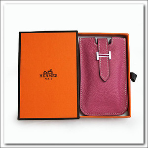 Hot pink Hermes phone case