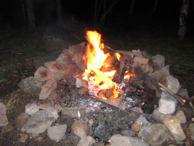 Our last campfire