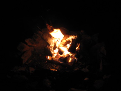 Our second campfire