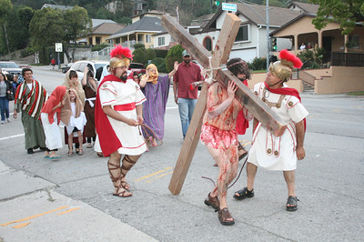 PASSION OF THE CHRIST RE-ENACTMENT • 03.29.13