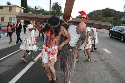 PASSION OF THE CHRIST RE-ENACTMENT • 04.18.14