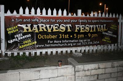 HARVEST FESTIVAL • 10.31.12