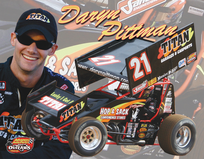 Daryn Pittman Hero Card