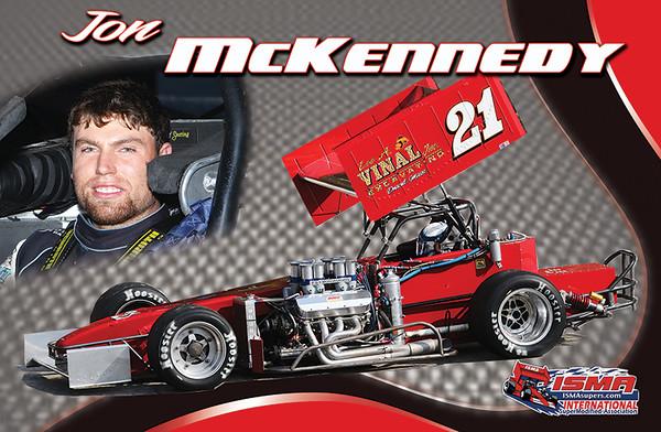 Jon McKennedy-Super Modified Hero Card