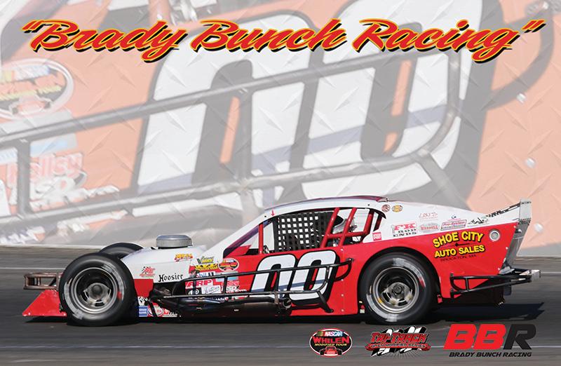 Brady Bunch Racing Hero Card