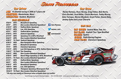 Sam Rameau Hero Card-back side