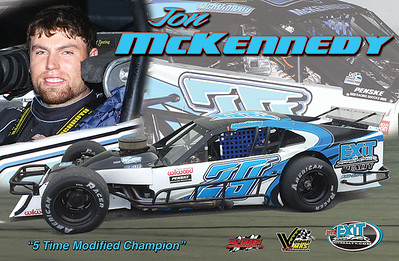 Jon McKennedy Modified Hero Card