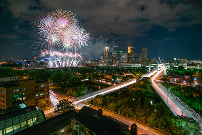 Fireworks and Light Trails